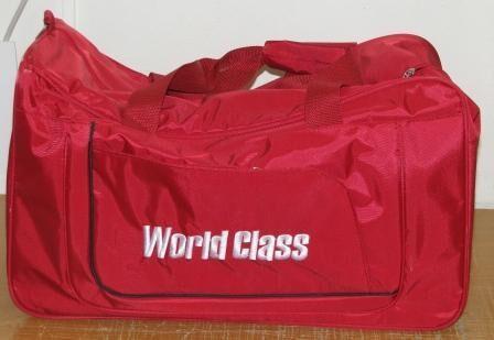 Спортивная сумка с логотипом (вышивка) Сувениры с нанесением логотипа...